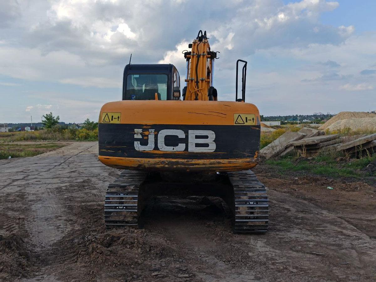 Гусеничный экскаватор JCB JS160NC