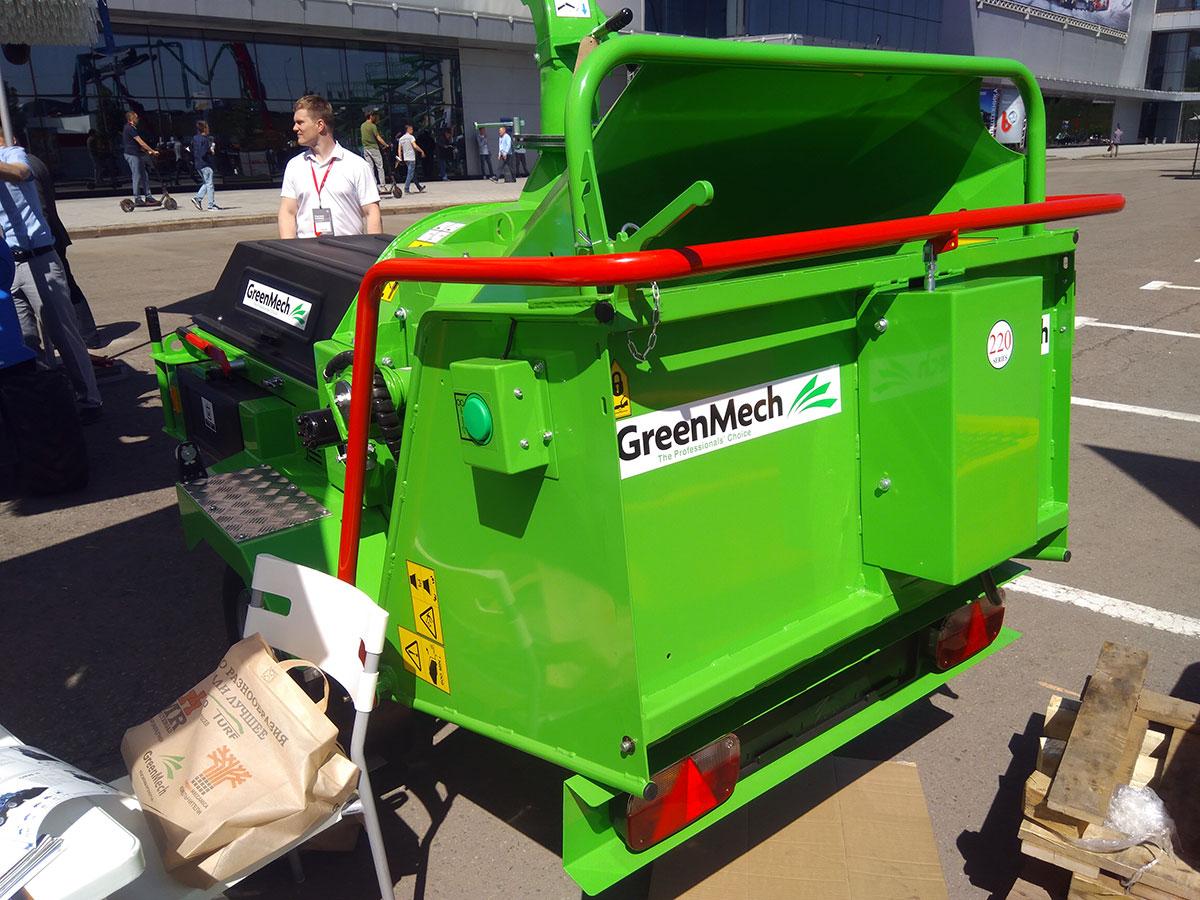 Измельчители веток GreenMech