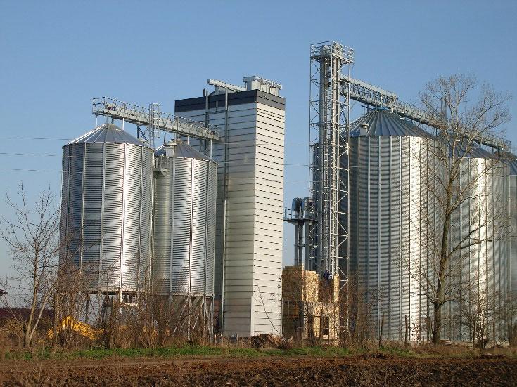 Шахтные зерносушилки Strahl