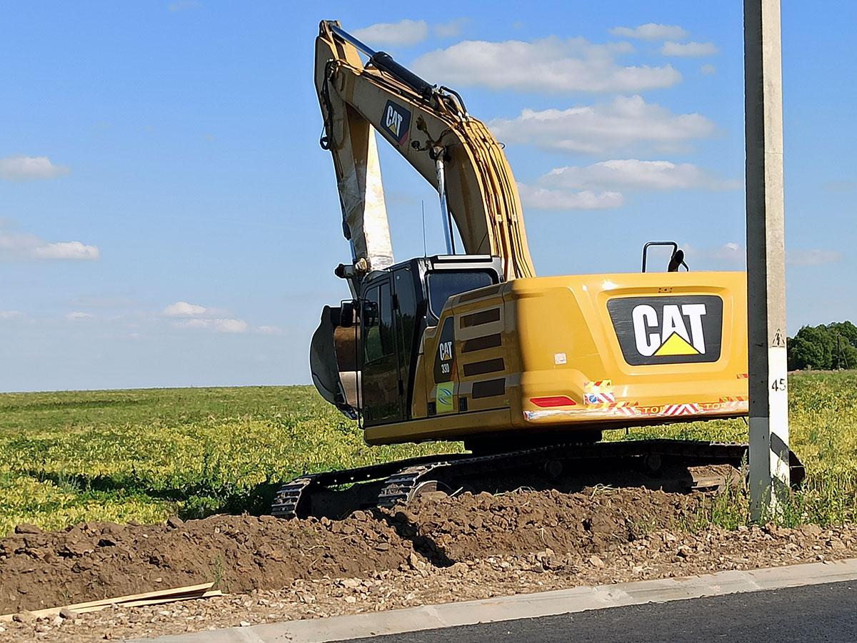 Экскаватор Caterpillar 330