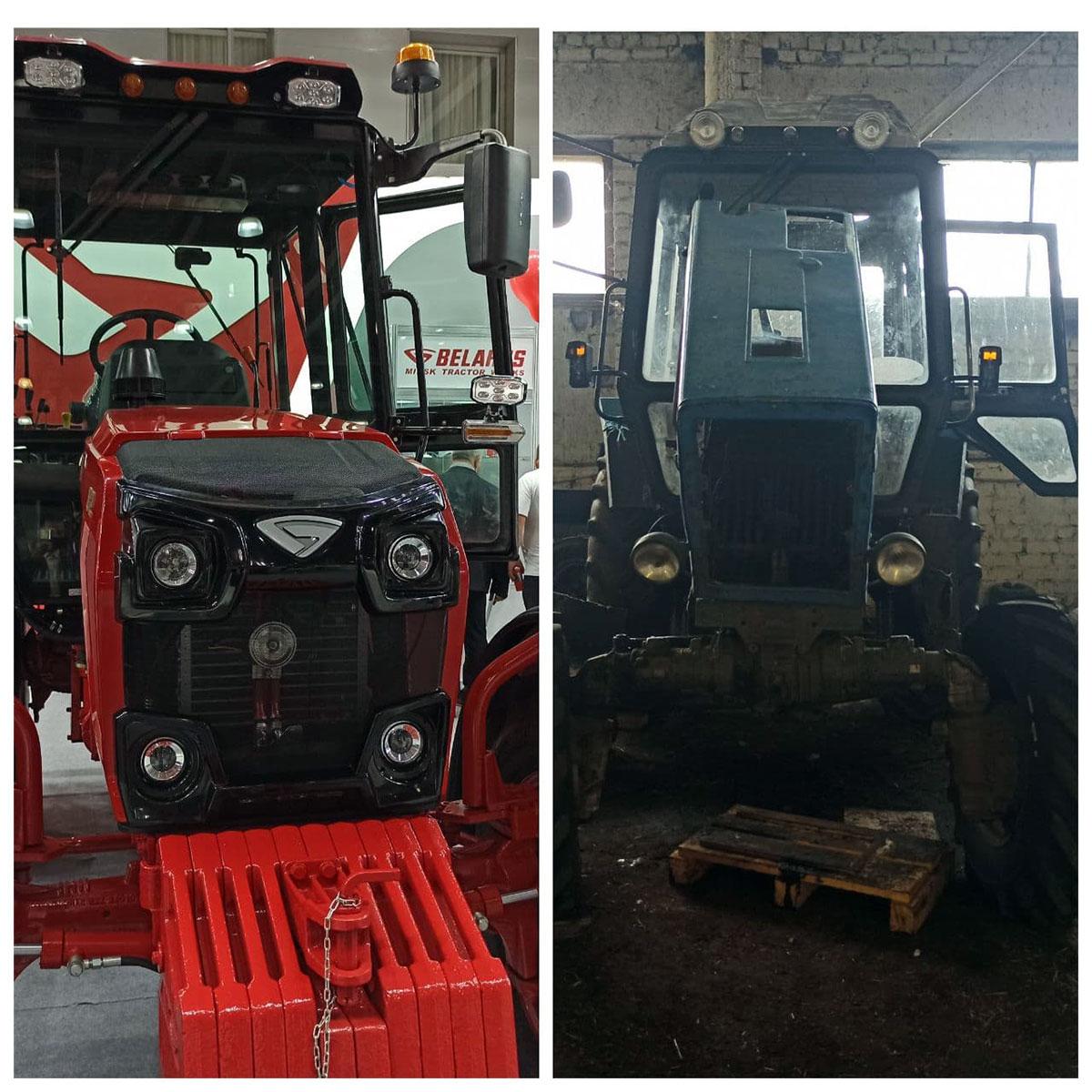 Эволюция трактора МТЗ 82