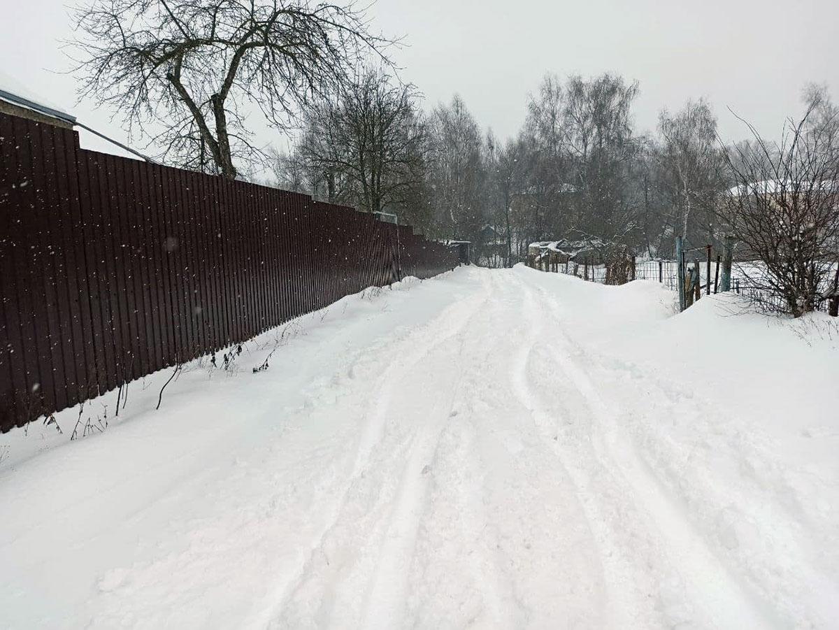 Сильнейший февральский снегопад