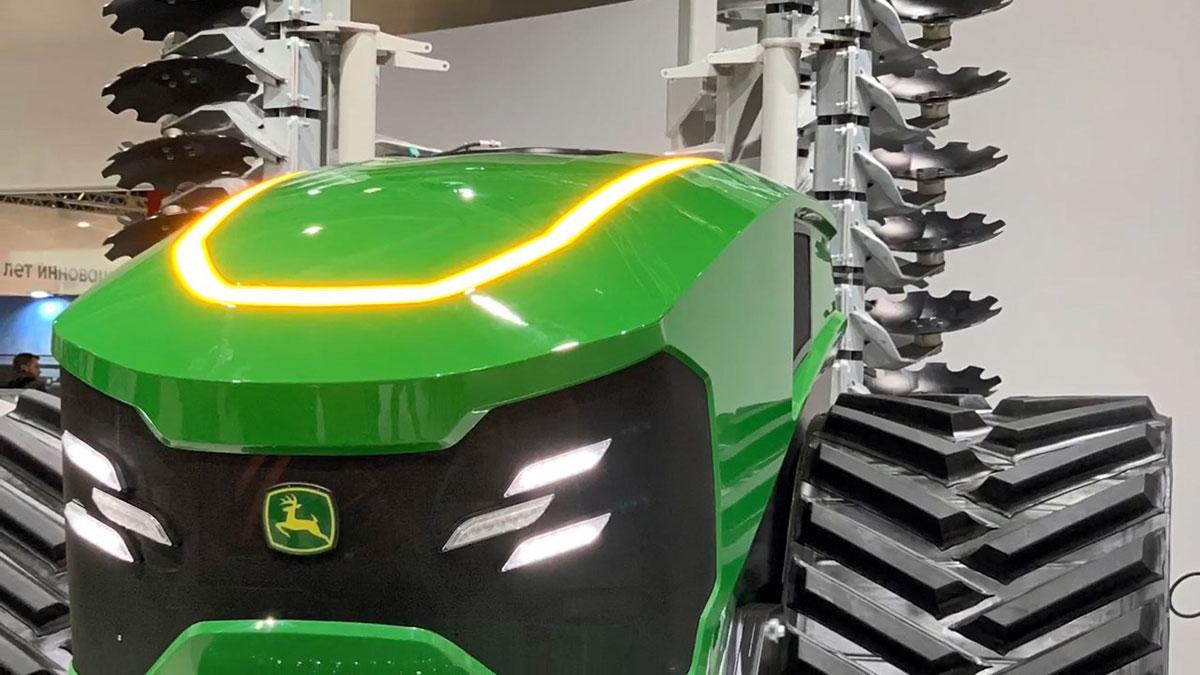 Новый трактор будущего от John Deere