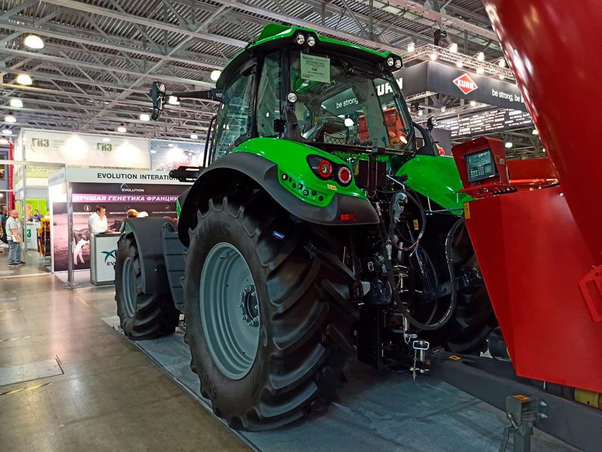 Трактор Deutz-Fahr 6-й серии